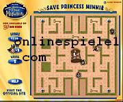 Save princess minni Pacman online spiele